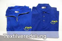 Textilveredelung - Design und Werbung